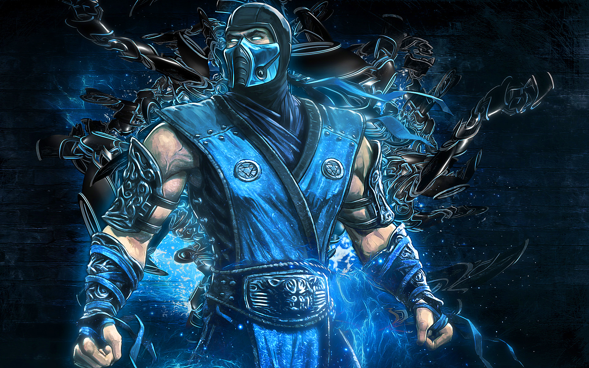 Scorpion And Sub Zero Wallpaper 1920x1200