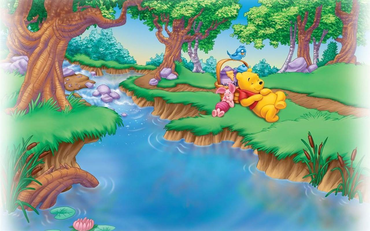 whinnie the pooh backgrounds
