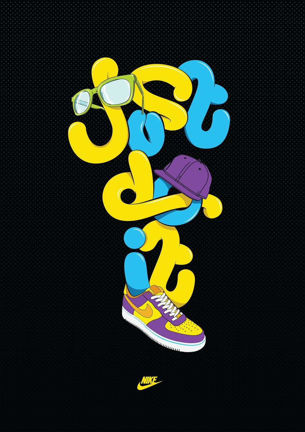 Cool Nike Backgrounds Wallpaper 1024x1448