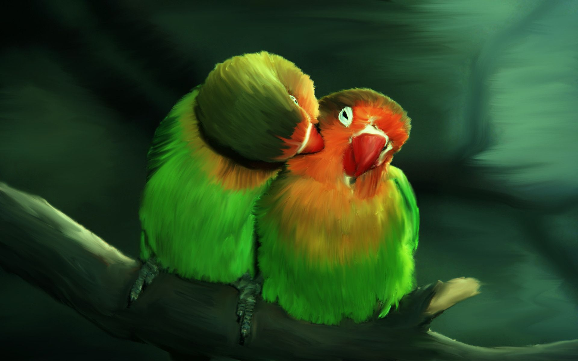 Love birds HD wallpapers, HD Desktop Wallpapers 1920x1200