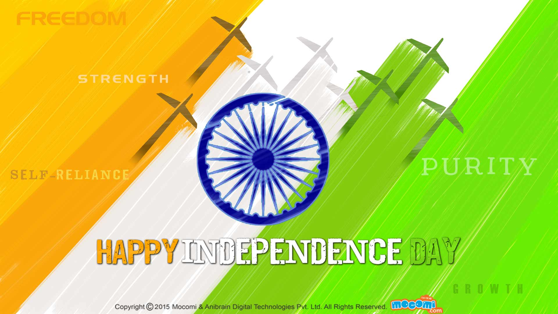 Happy Th Independence Day Of India Hd Wallpapers With Quotes 1920x1080