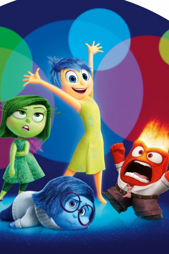 Disney Movie Inside Out Desktop Iphone Wallpapers 640x960