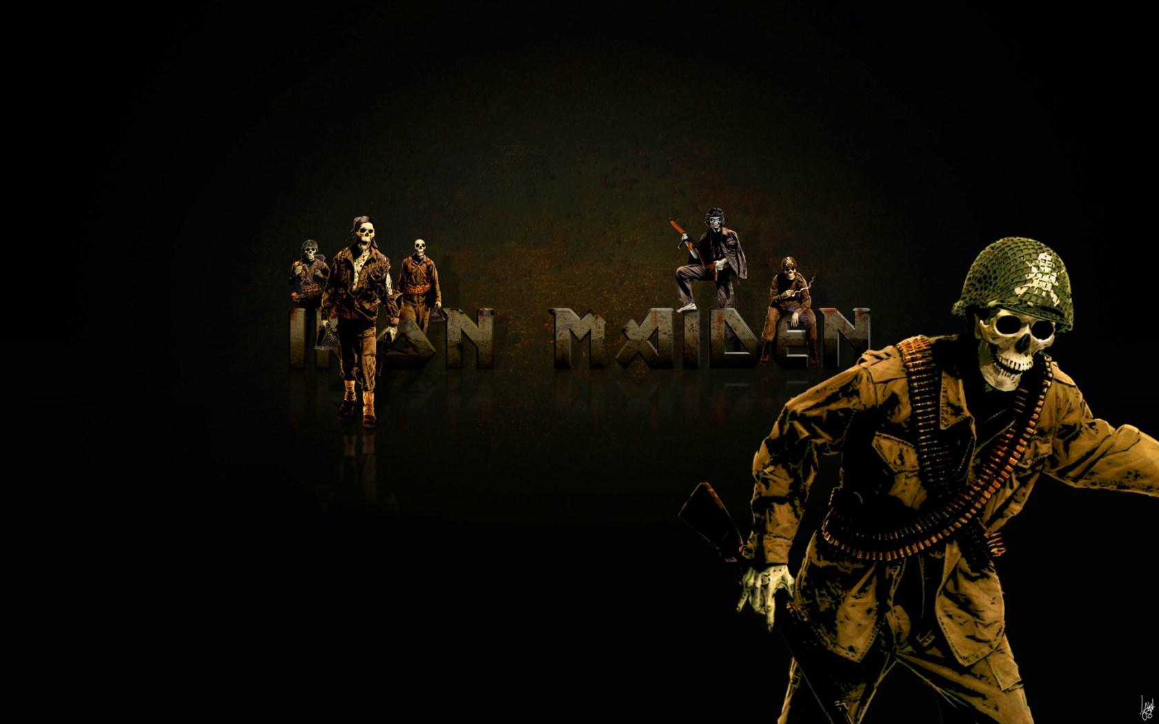 Iron Maiden Fear Of The Dark Wallpapers Harmony Wallpaper