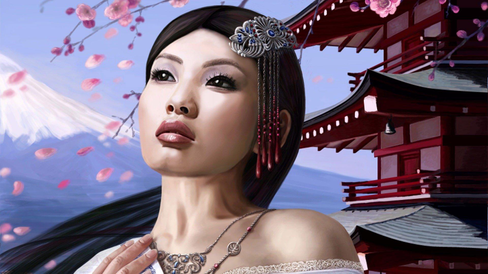 Oriental girl gallery #1