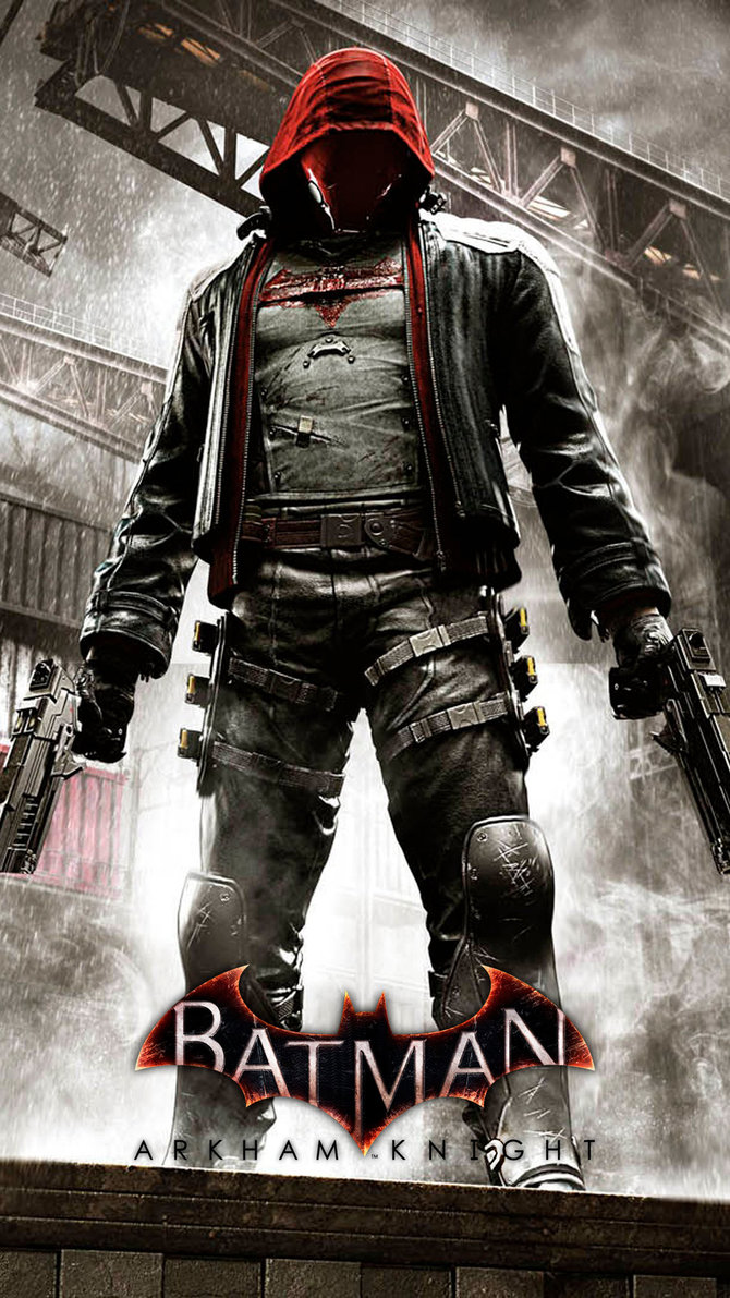 Red Hood Arkham Knight Jason Todd by JPGraphic on