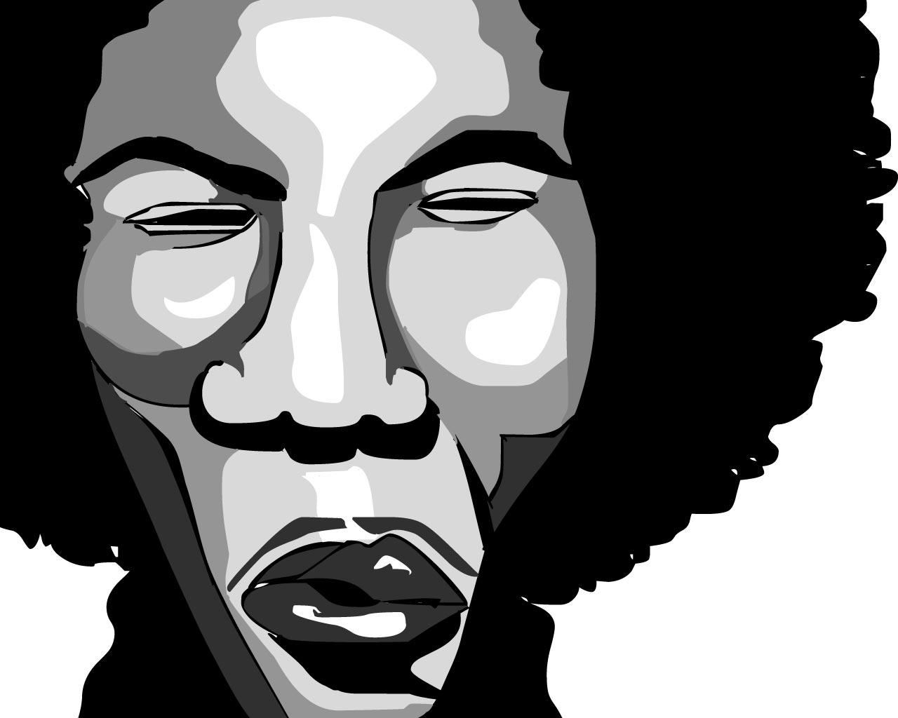 Jimi Hendrix Backgrounds Group  1280x1024