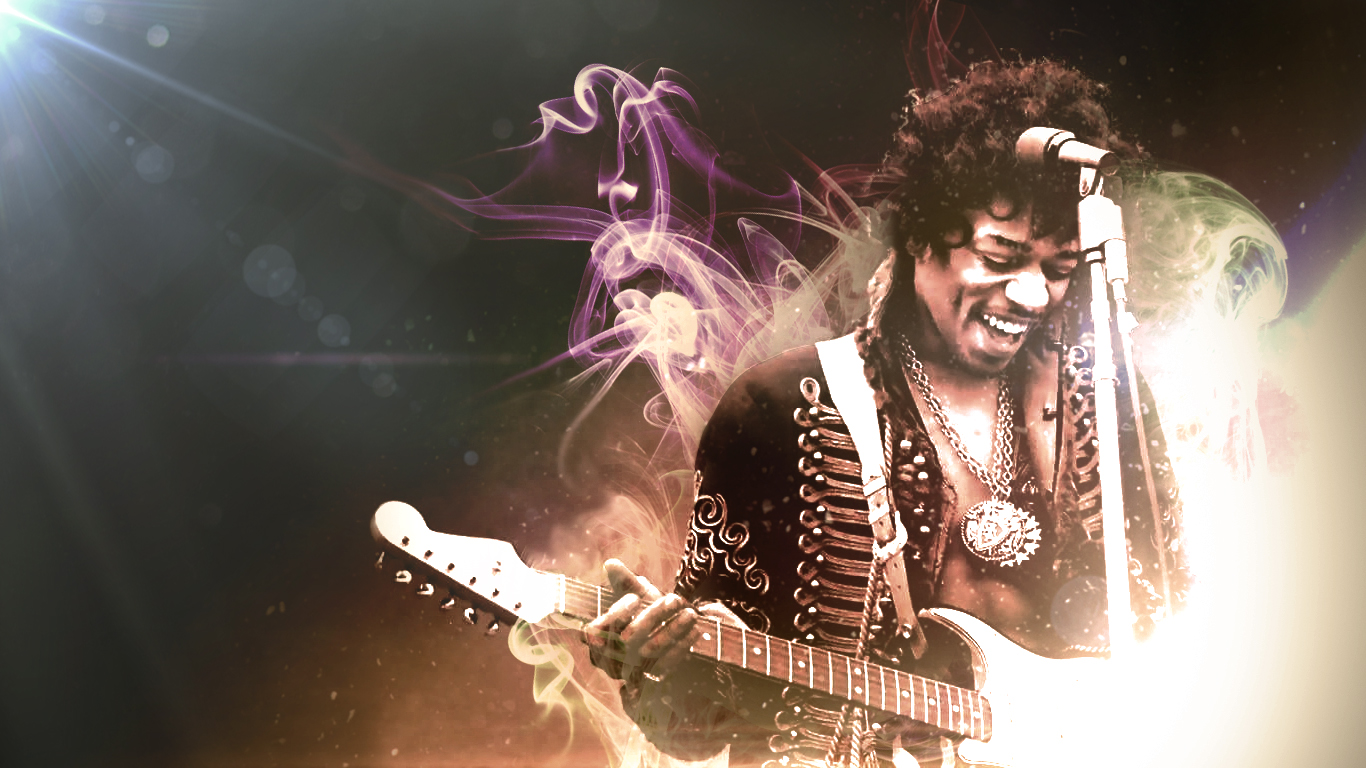 Jimi Hendrix Wallpaper 9 | The Art Mad