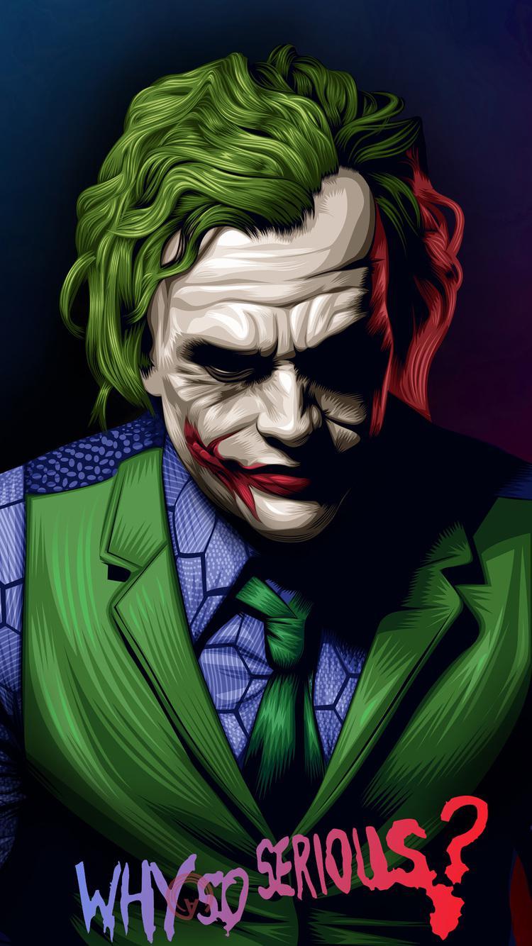Joker HD wallpapers for iphone10