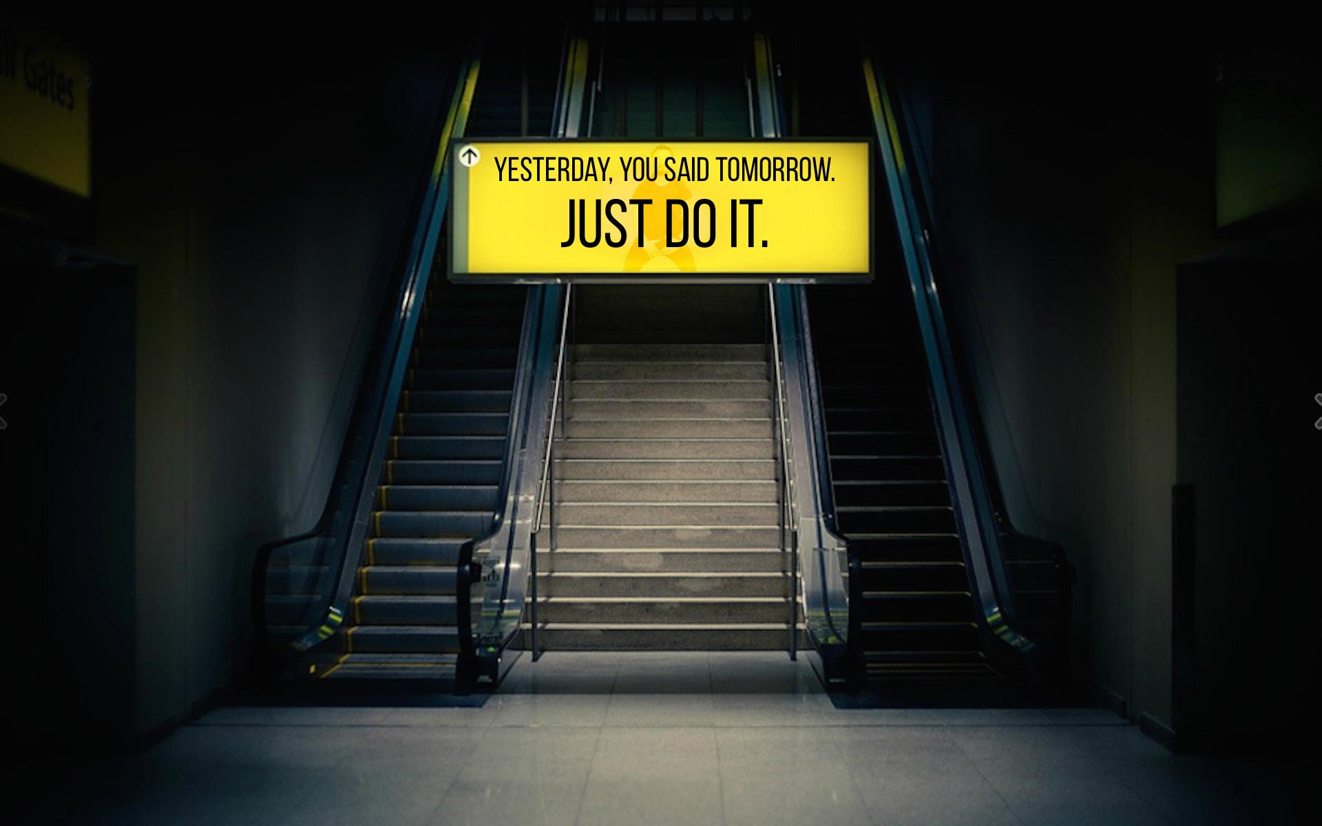 Just Do It Wallpaper 025