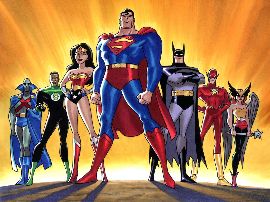 Justice League Of America Hd Wallpapers Backgrounds 1024x768