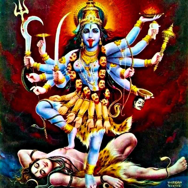 Картинки многоглазая богиня