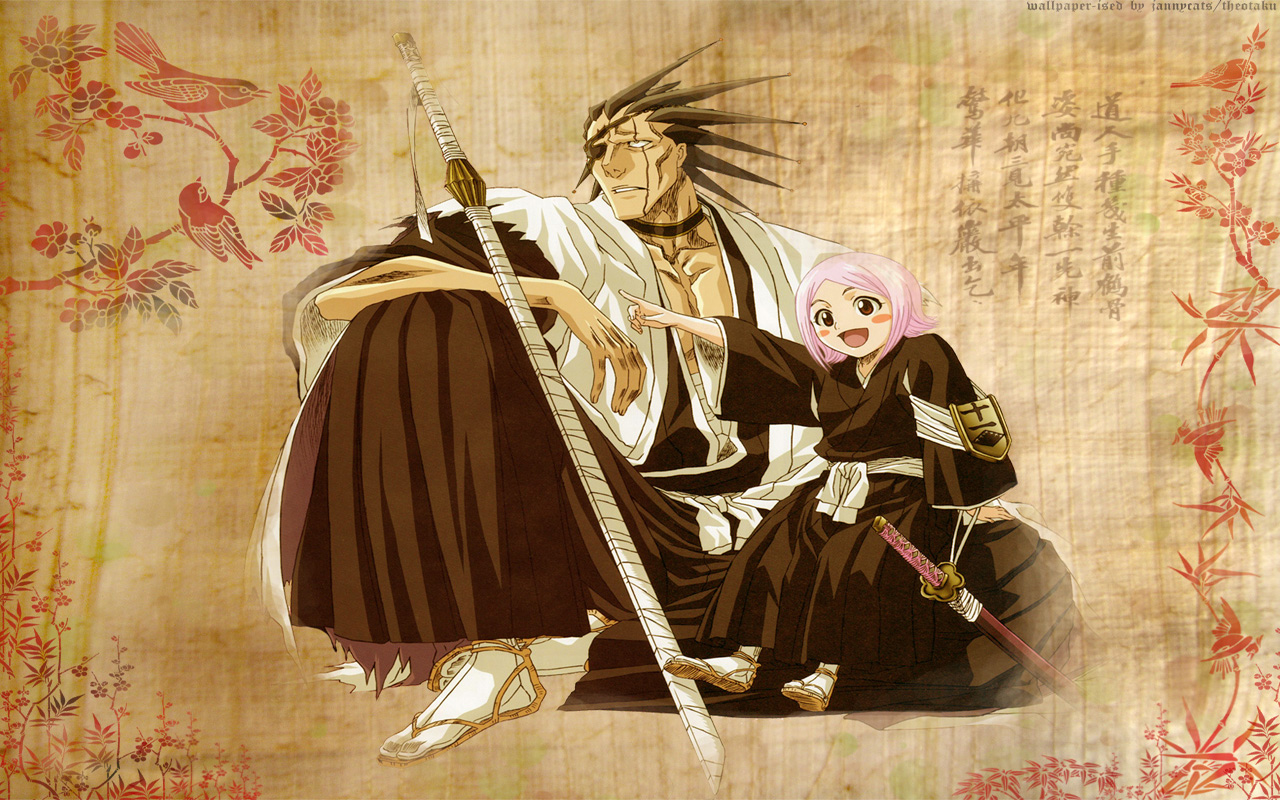 Kenpachi Zaraki images Kenpachi Zaraki And Yachiru HD wallpaper and
