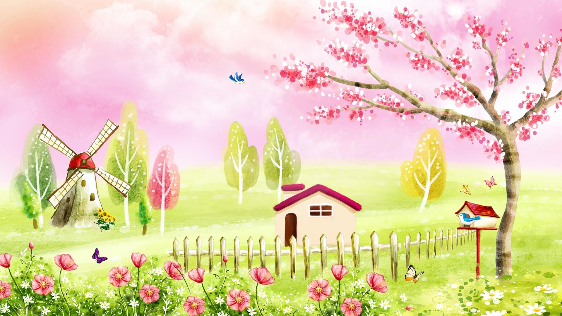 Kids Spring K Wallpapers Free K Wallpaper 1920x1080