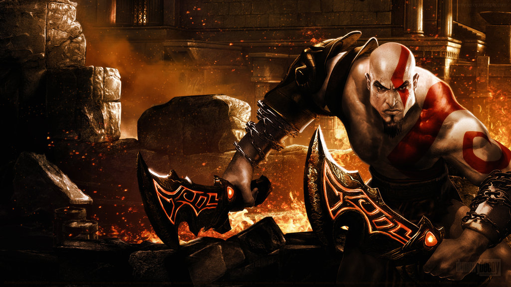 God Of War HD Wallpapers  Backgrounds  Wallpaper  1024x576