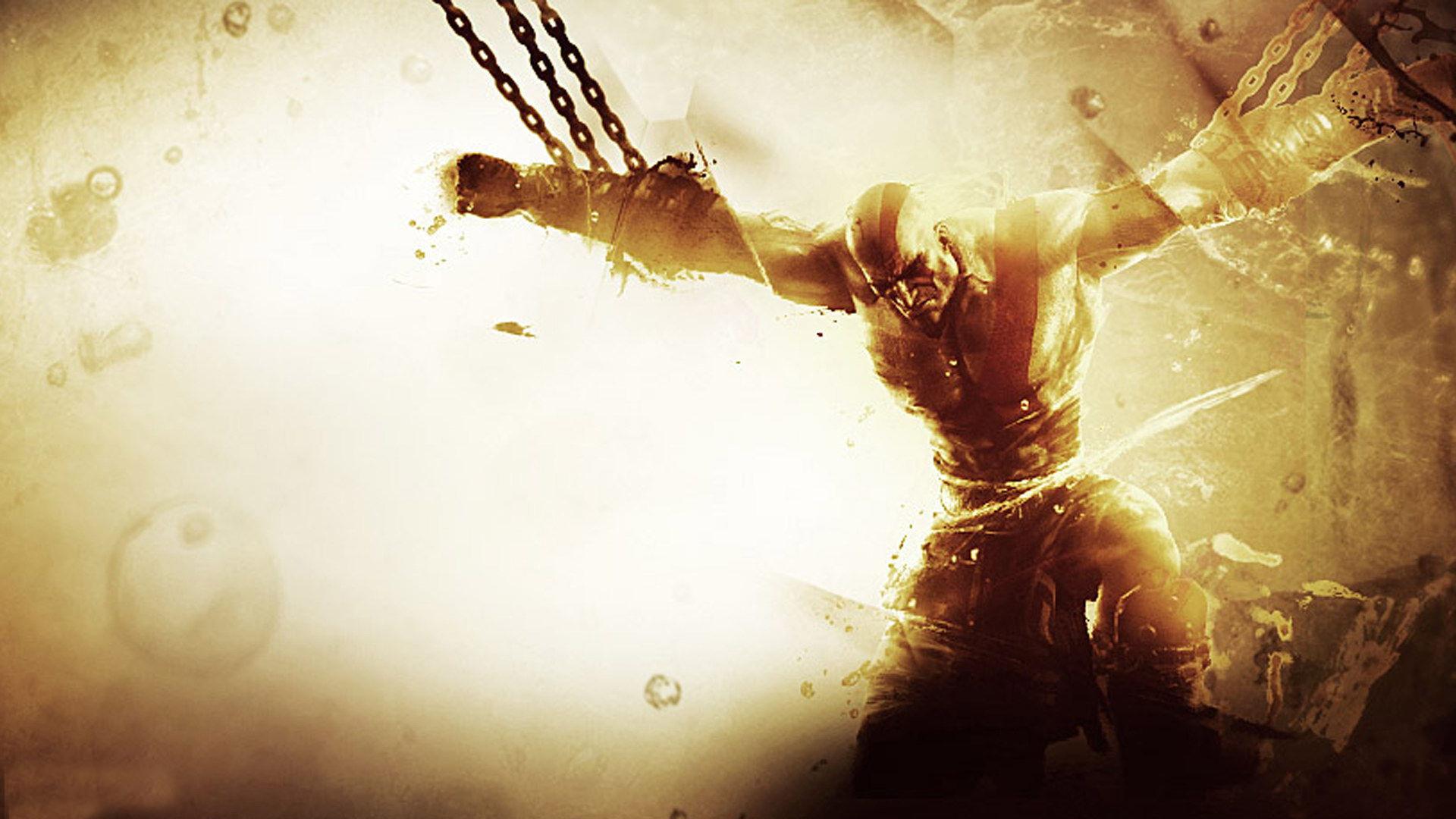God Of War Iii Kratos Eyes Hd Desktop Wallpaper High Definition
