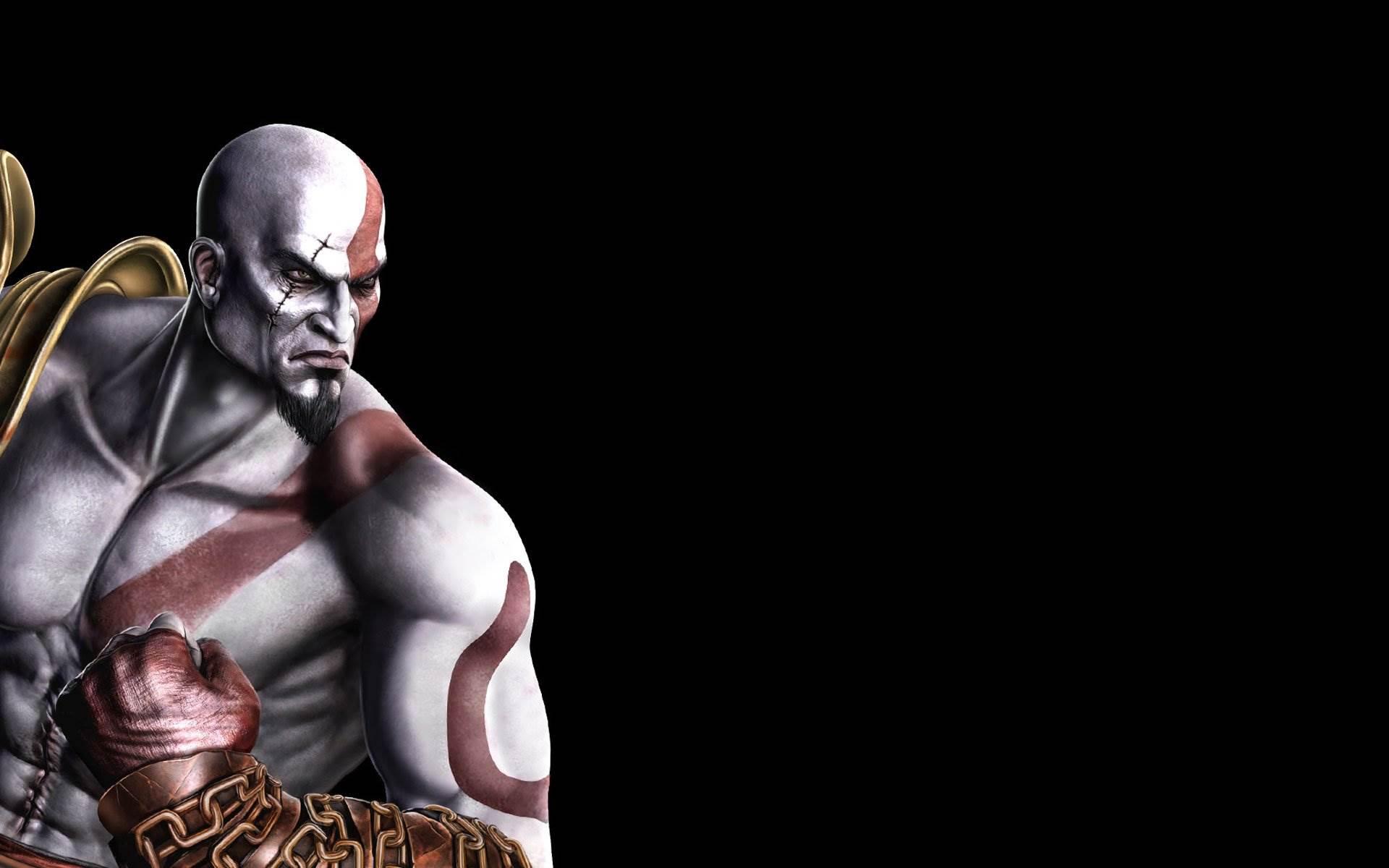 Mortal Kombat, Scorpion , Kratos, God Of War Wallpapers 1920x1200