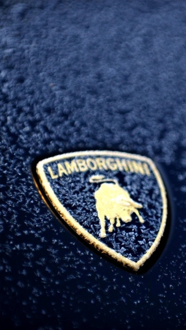 Cars Lamborghini Logo Free Desktop Background For Hd 640x1136
