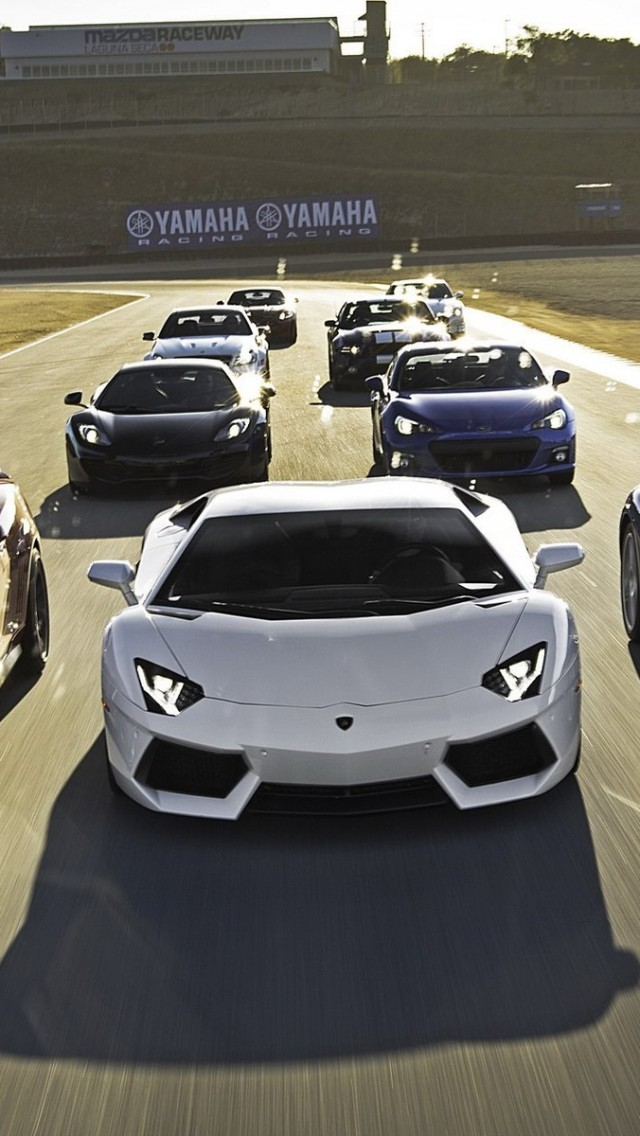 Download Black Lamborghini Aventador By Mansory Wallpaper For Iphone