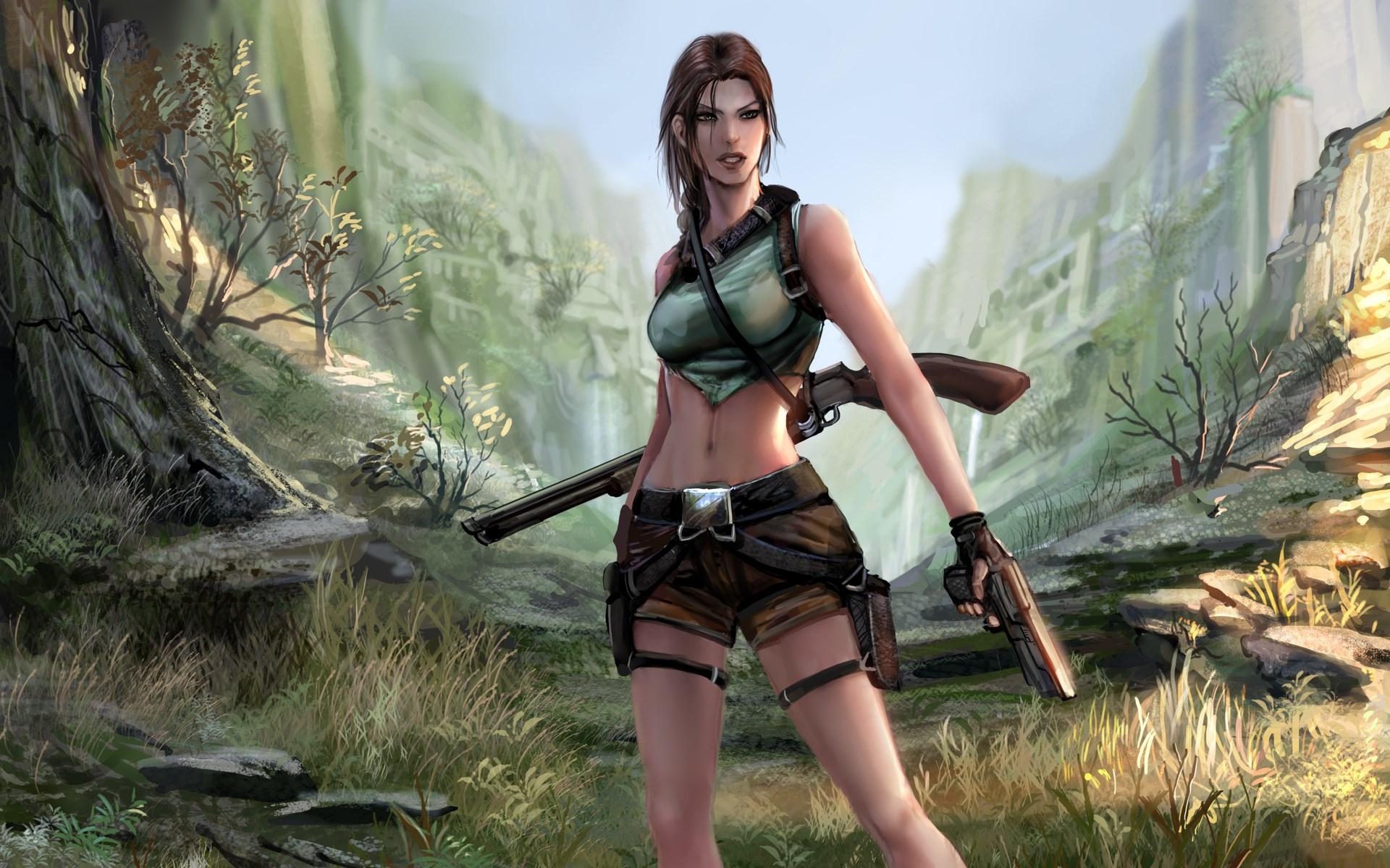 Wallpaperswide Rise Of The Tomb Raider Lara Croft Hd Desktop