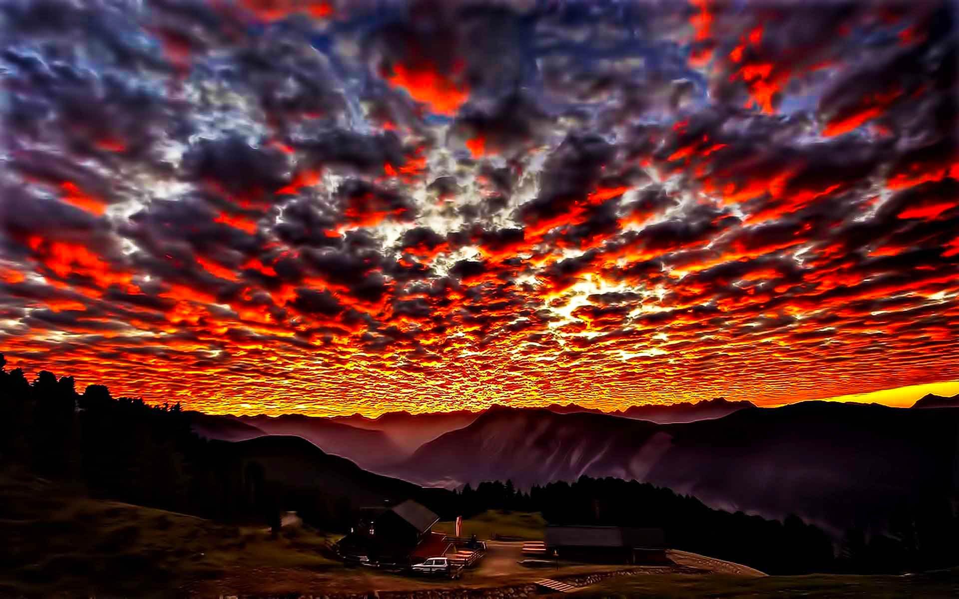 Картинка с красотой неба