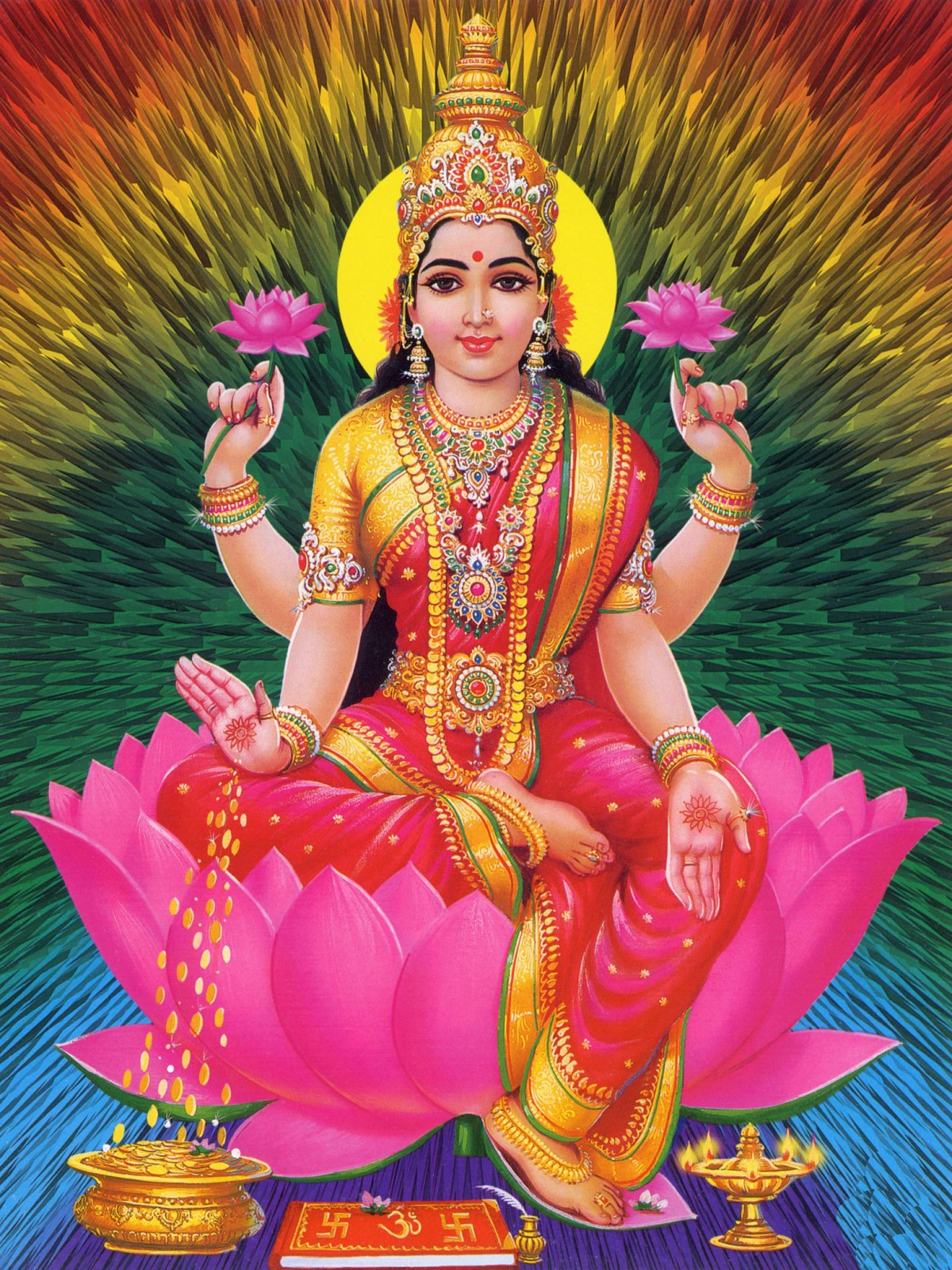 Laxmi Devi images hd wallpapers (55 Wallpapers) - Adorable ...