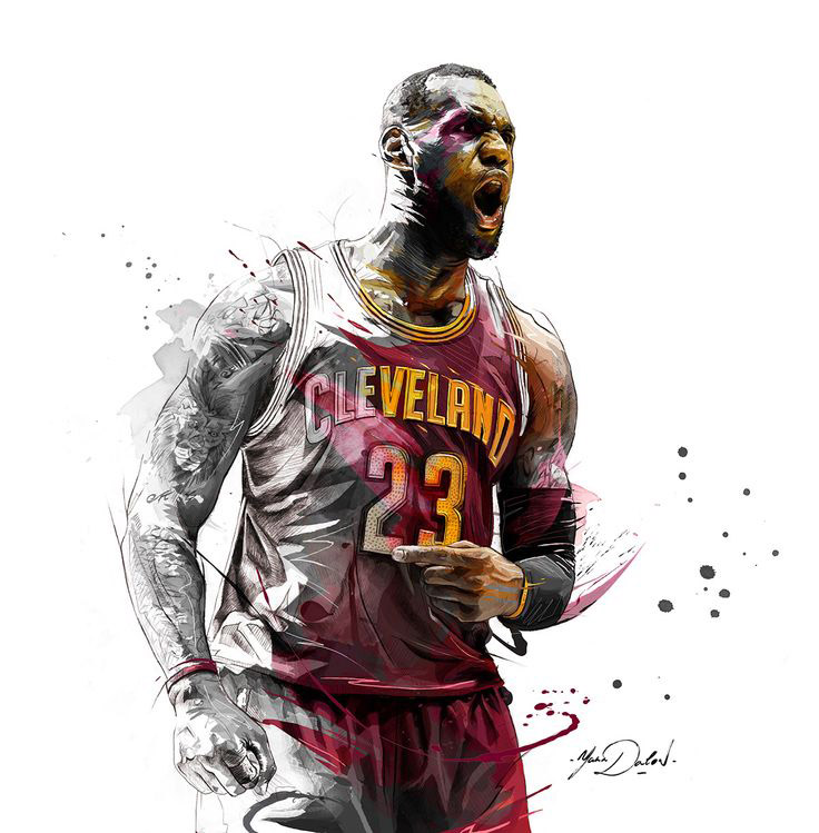 LeBron James Wallpapers  Basketball Wallpapers at 736x749