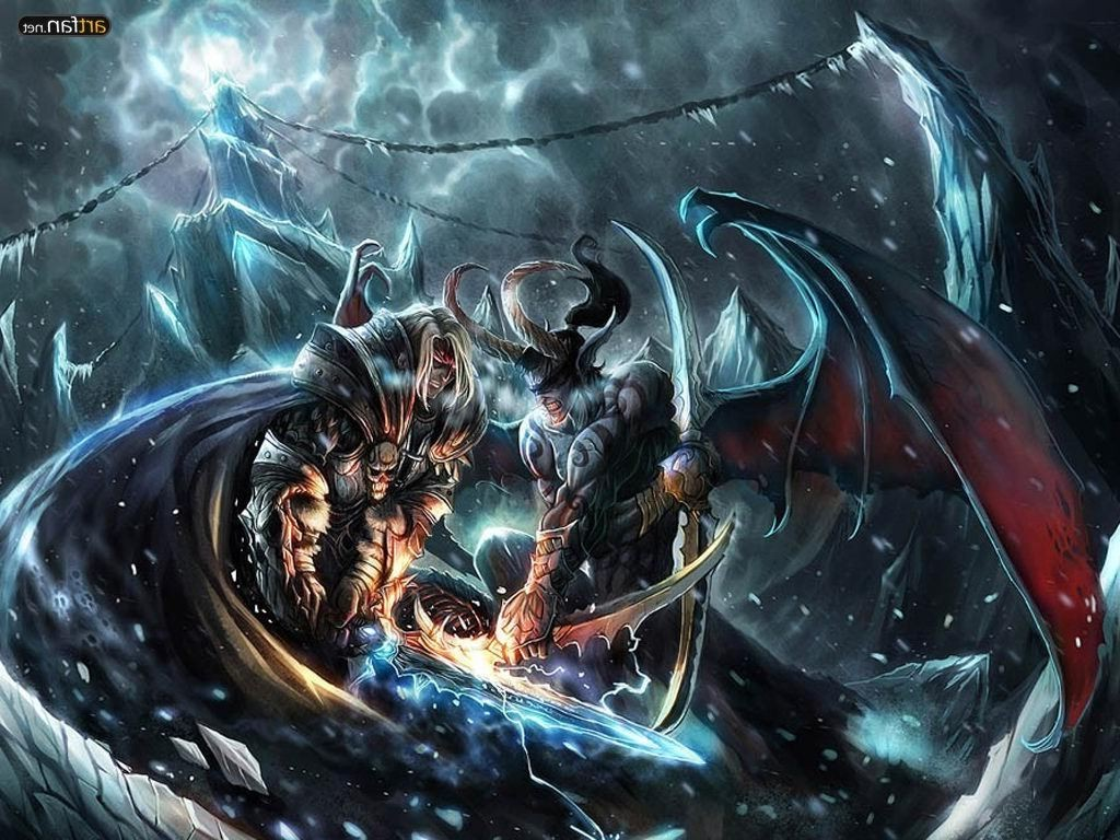 Find Out World Of Warcraft Wrath Of The Lich King Wallpaper On