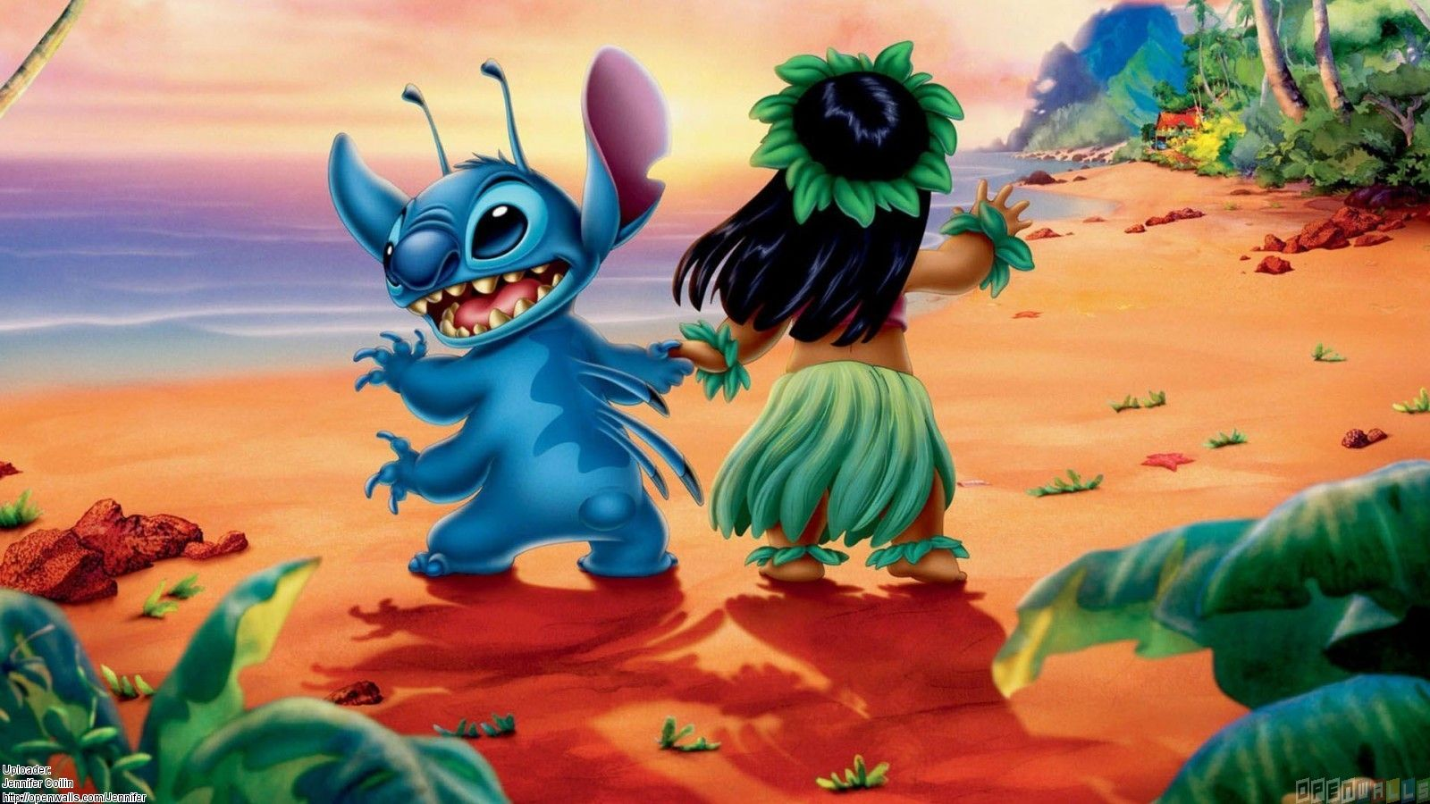 Lilo And Stitch Wallpaper HD For IPhone Android IPhoneLovely 1600x900