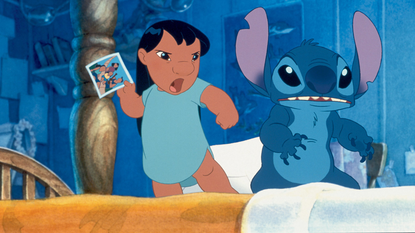 Lilo And Stitch Iphone Wallpaper 1330x748