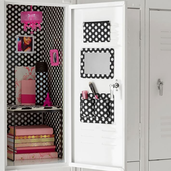 Magnetic Locker Wallpaper In Pink Floral Print 710x710