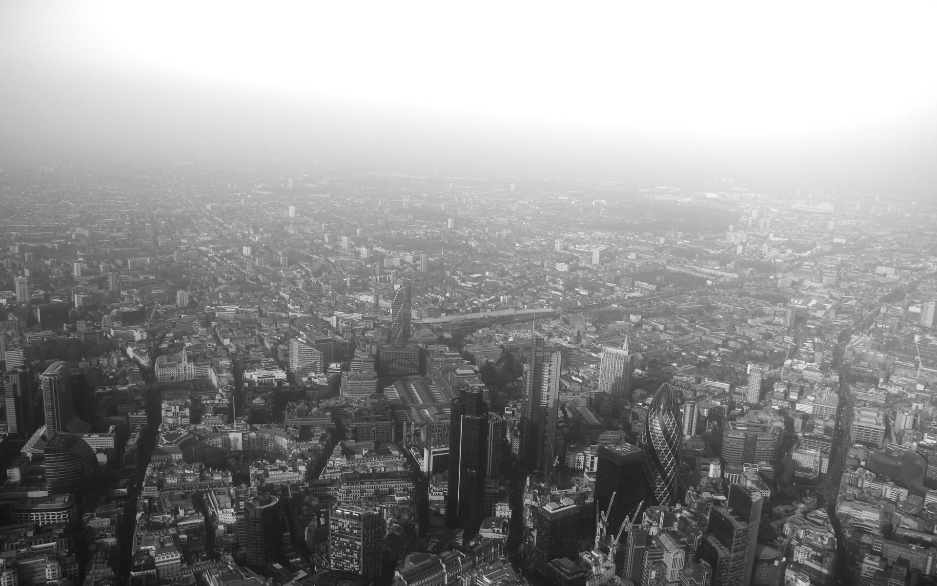 London Wallpaper Black And White Page 1920x1200