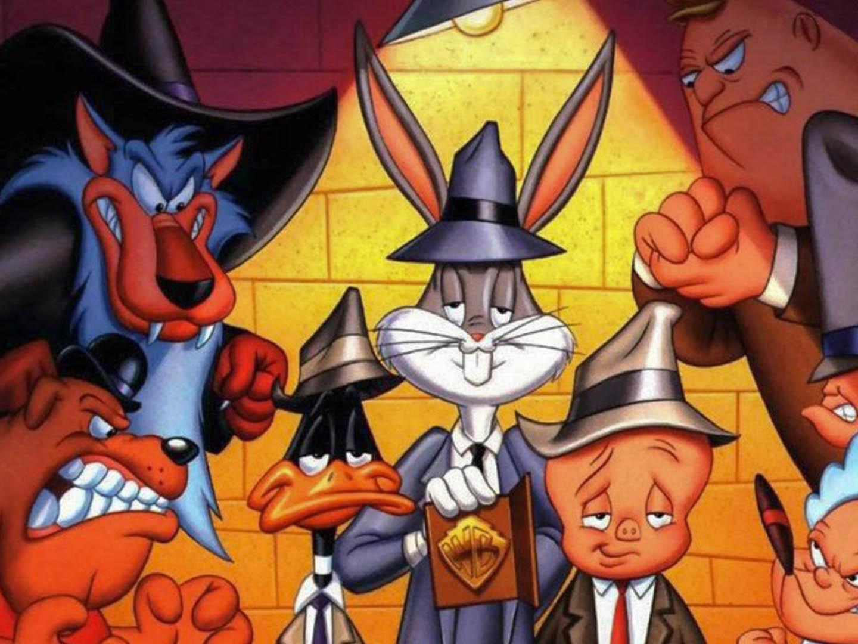 Bugs Bunny And Elmer Fudd Looney Tunes Cartoons Desktop Wallpaper