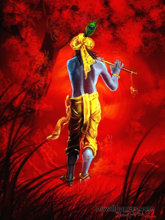 Lord krishna hd wallpapers for iphone56