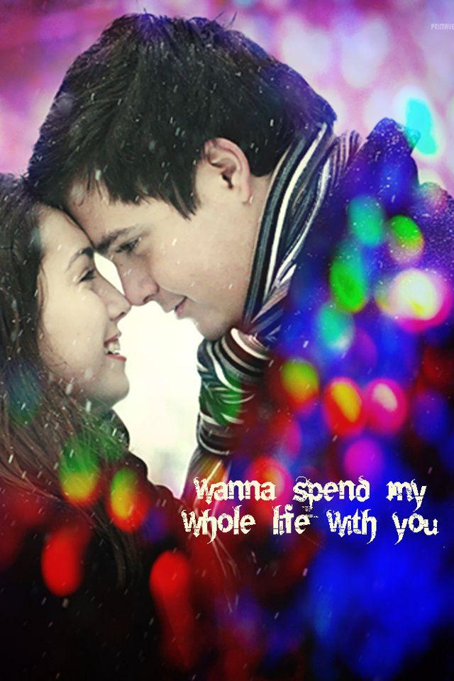Love Couple Wallpaper 640x960