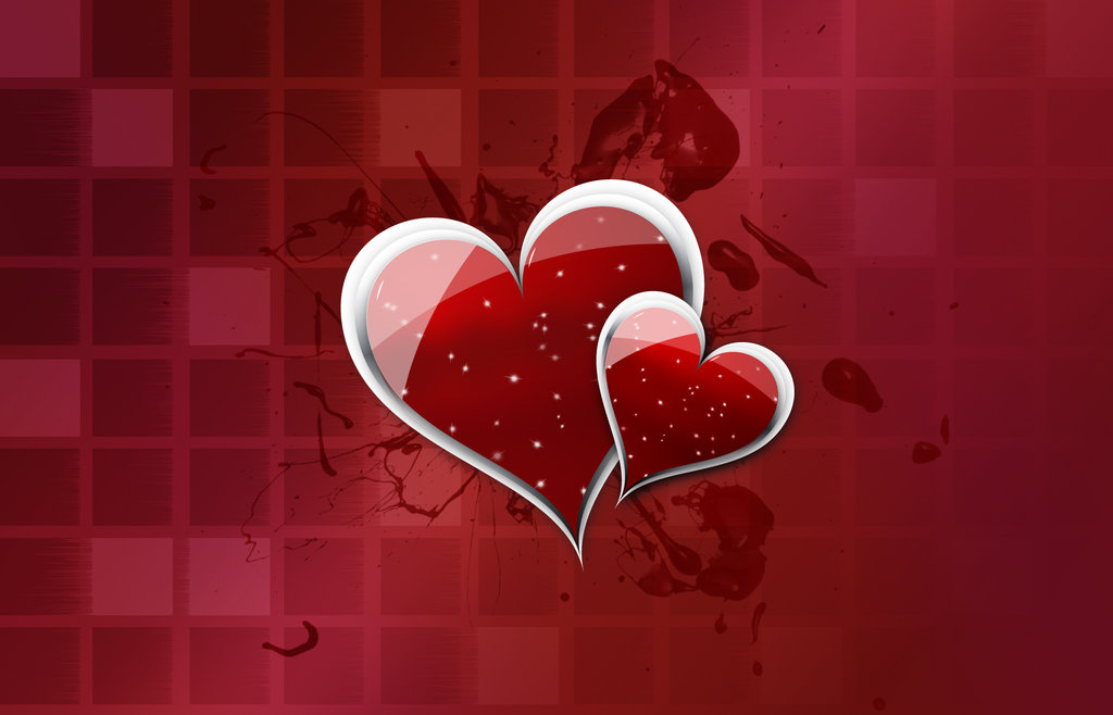 D Love Heart Wallpaper Wallpapers For Free Download About 1024x658