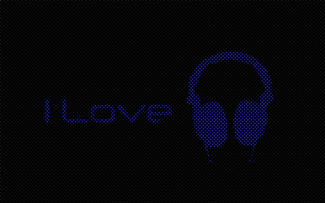 I Love Music Wallpaper A HD Downloads 1050x656