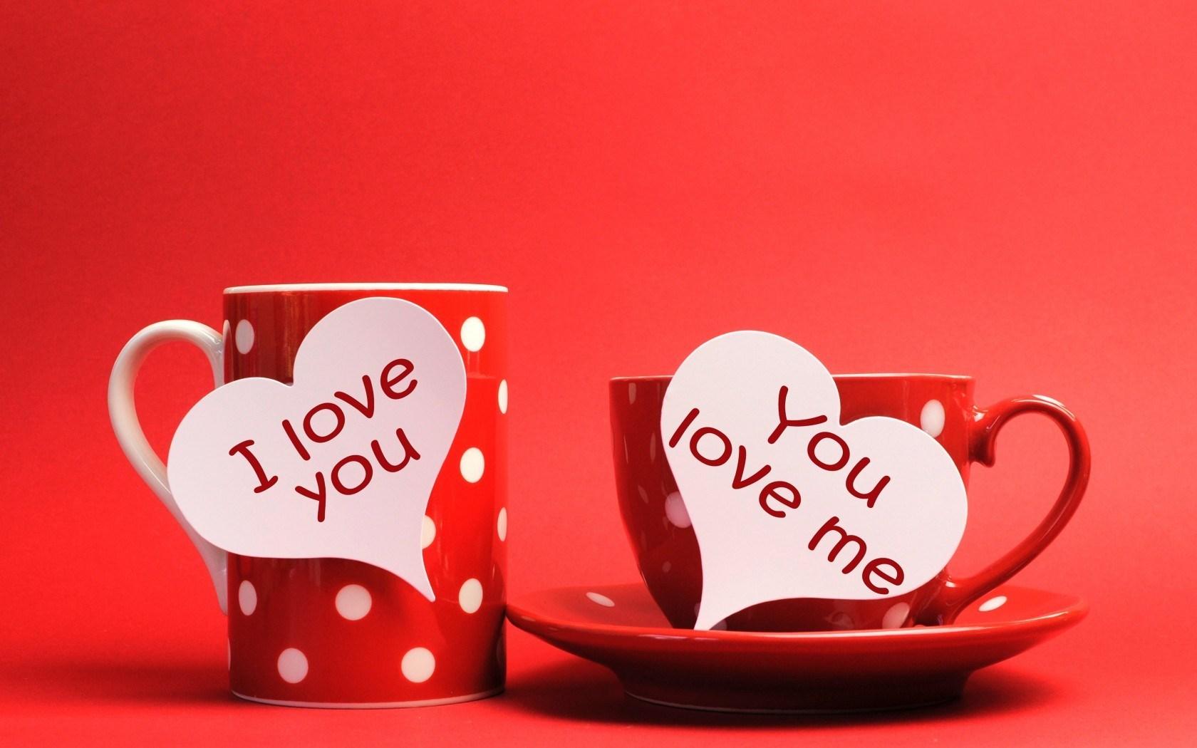 Valentines Day I Love You Card Hd Desktop Wallpaper High 1680x1050