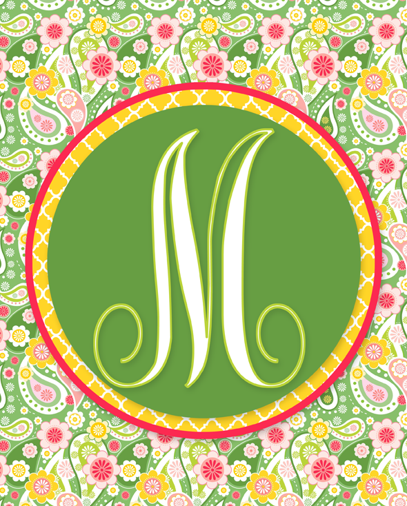 M Monogram Wallpapers (20 Wallpapers) – Adorable Wallpapers