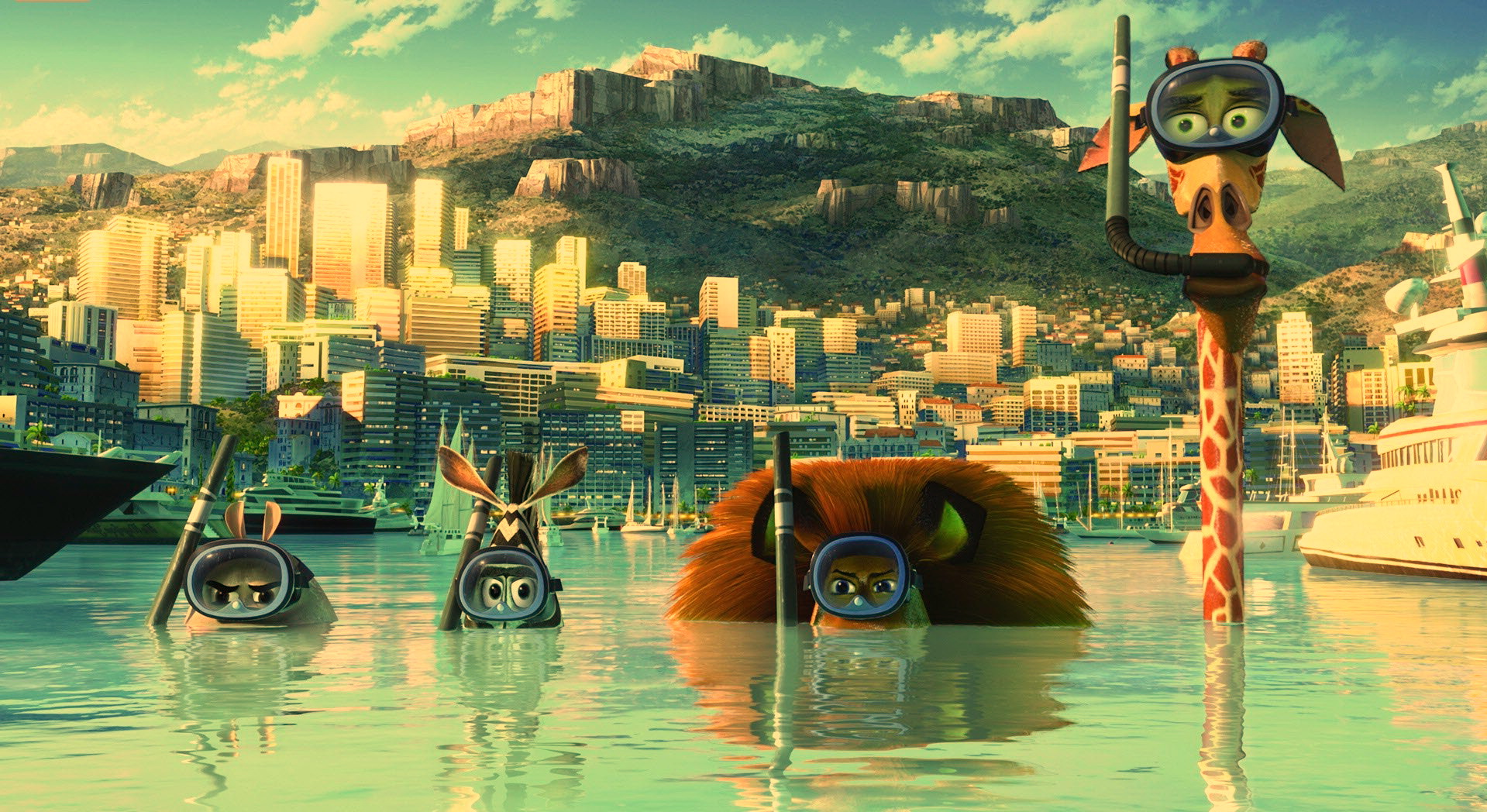 Madagascar: Escape Africa Movie Wallpapers WallpapersInk
