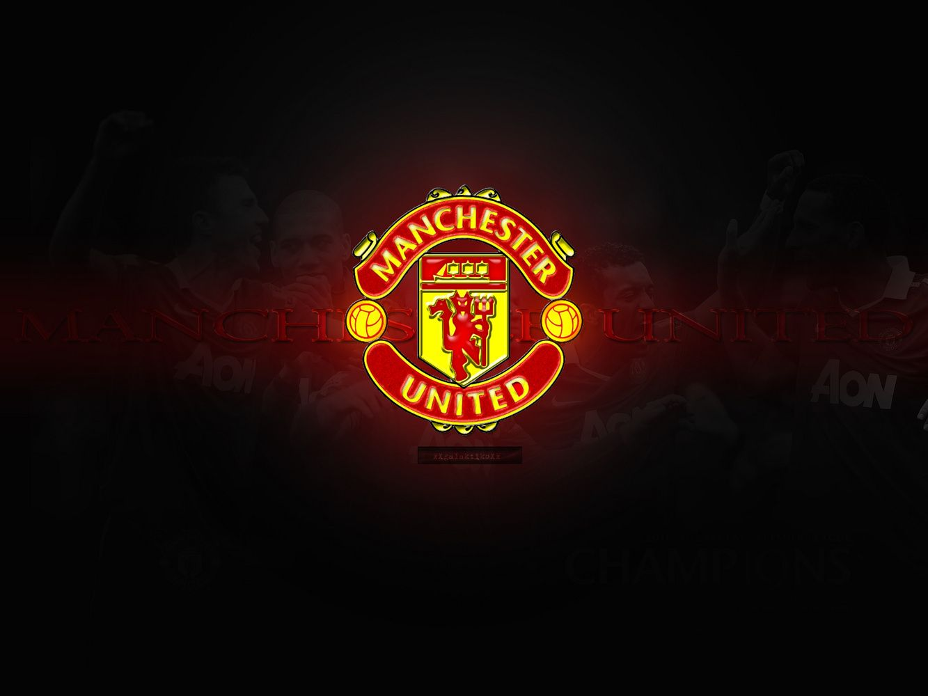 Manchester United Logo Wallpapers HD Wallpaper  1333x1000