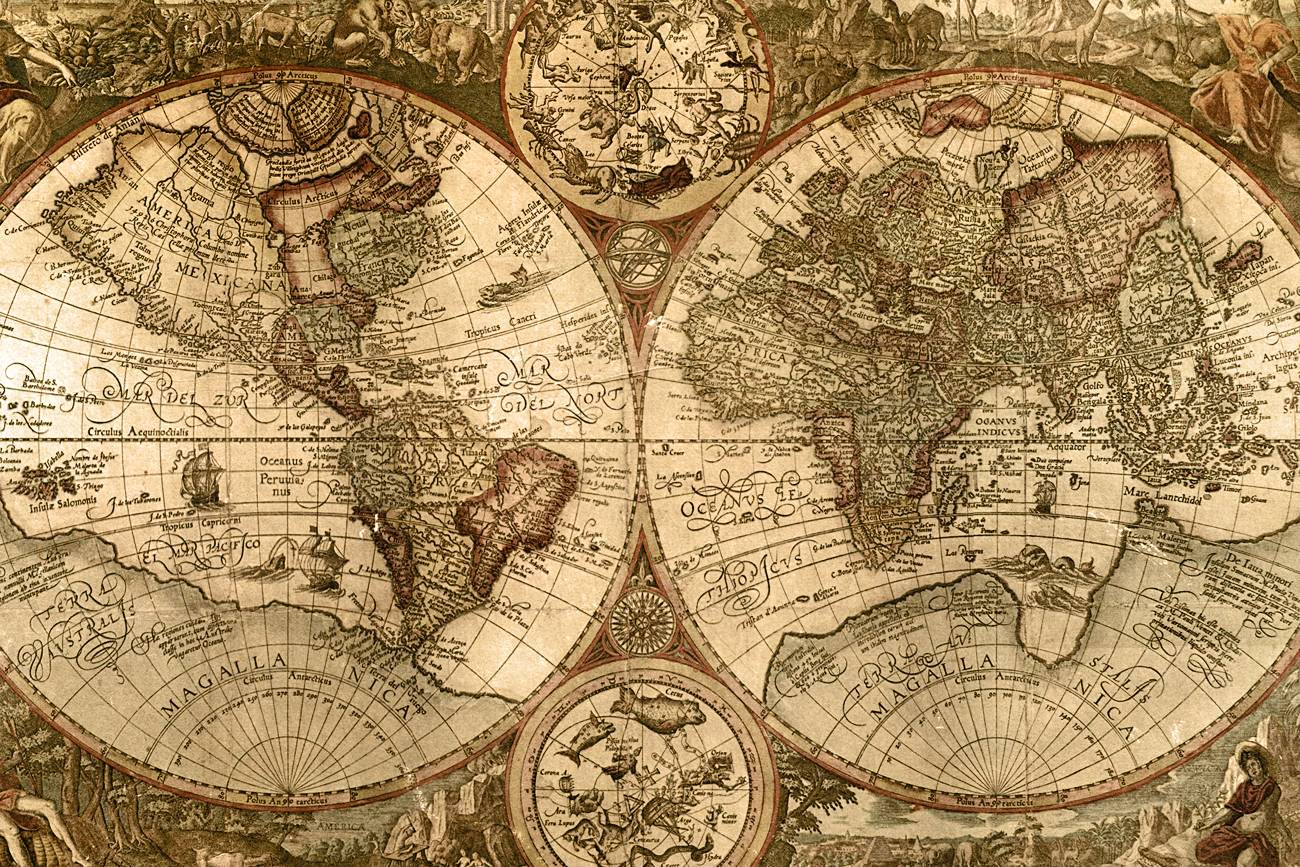 Map Wallpaper (36 Wallpapers)