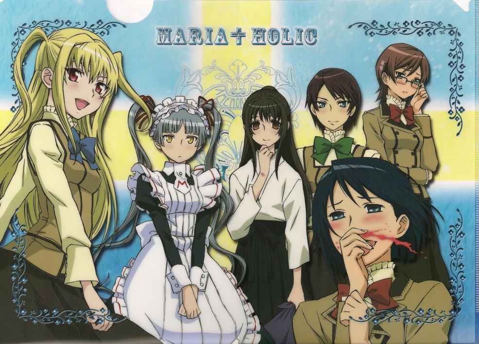 Maria Holic Wallpapers 002 - Parliamo del Giappone: il magico mondo del crossdressing