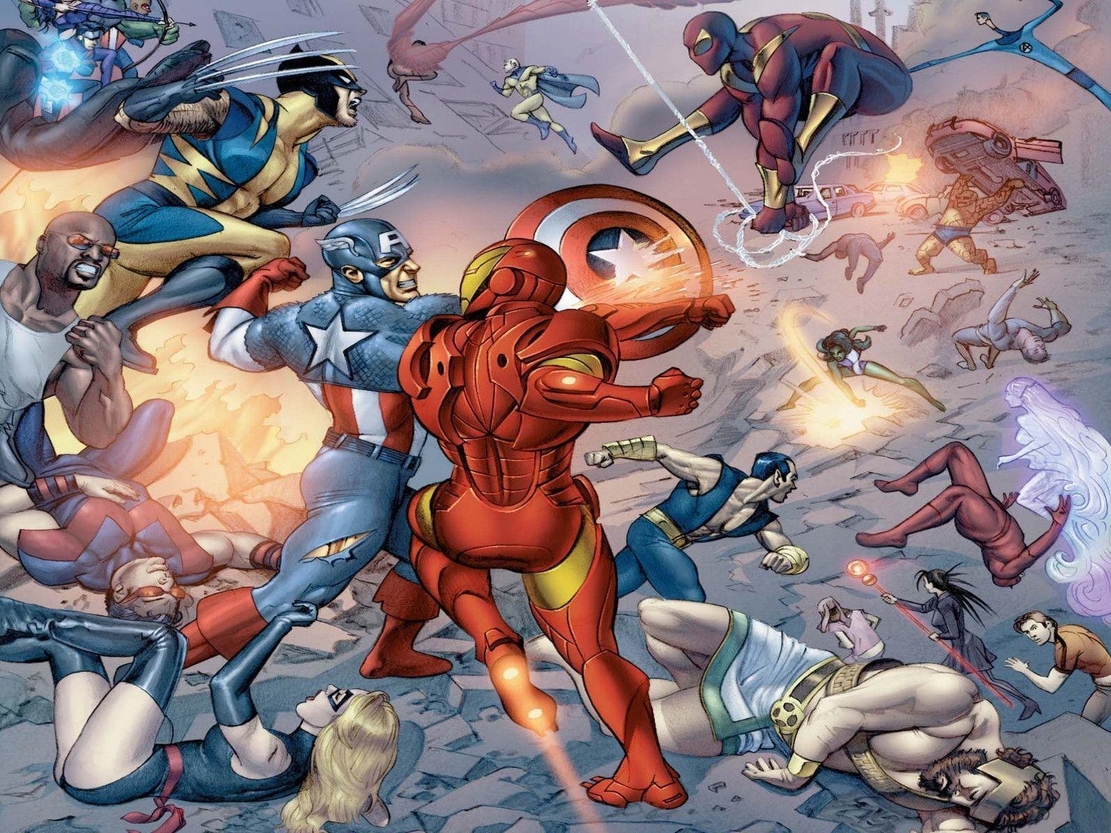 Marvel Civil War Wallpapers Desktop Movies Wallpaper Altilici