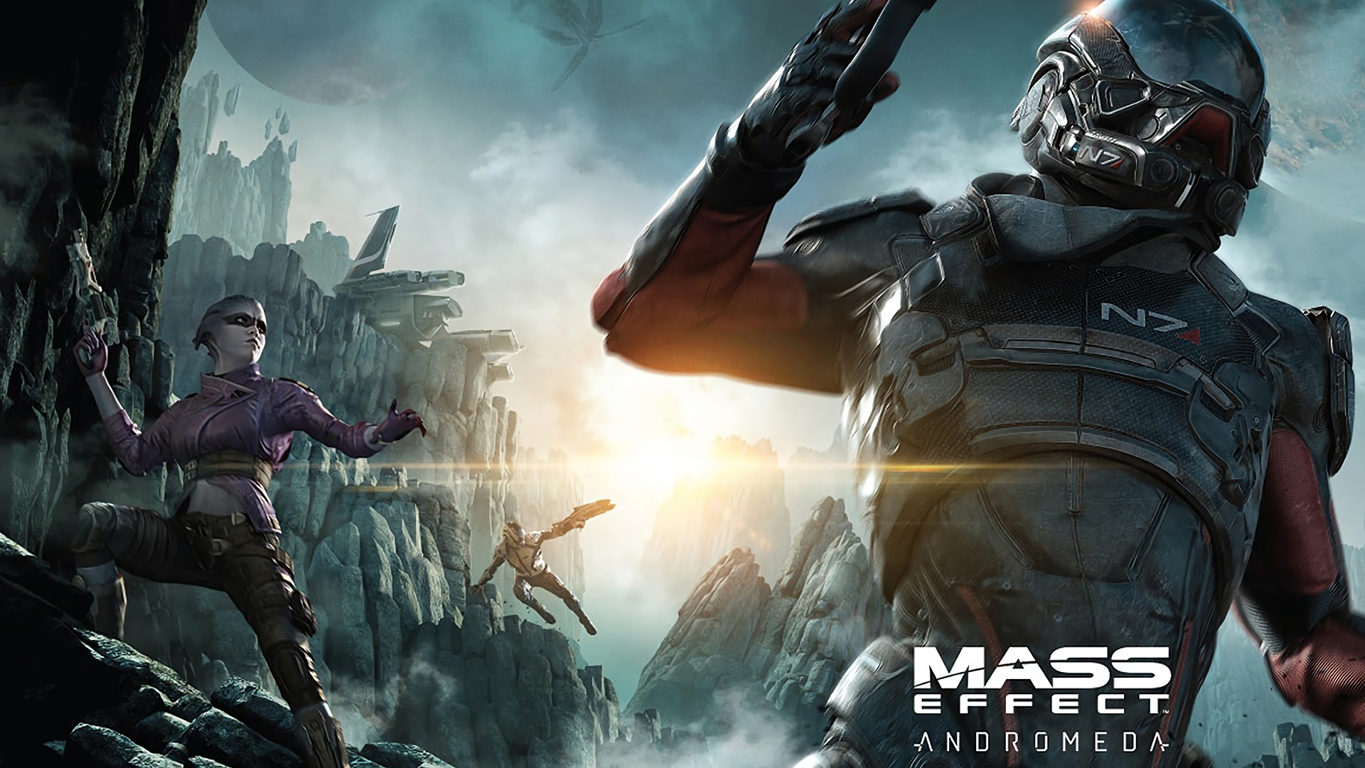 Mass Effect Andromeda Wallpapers Pictures Images 1920x1080