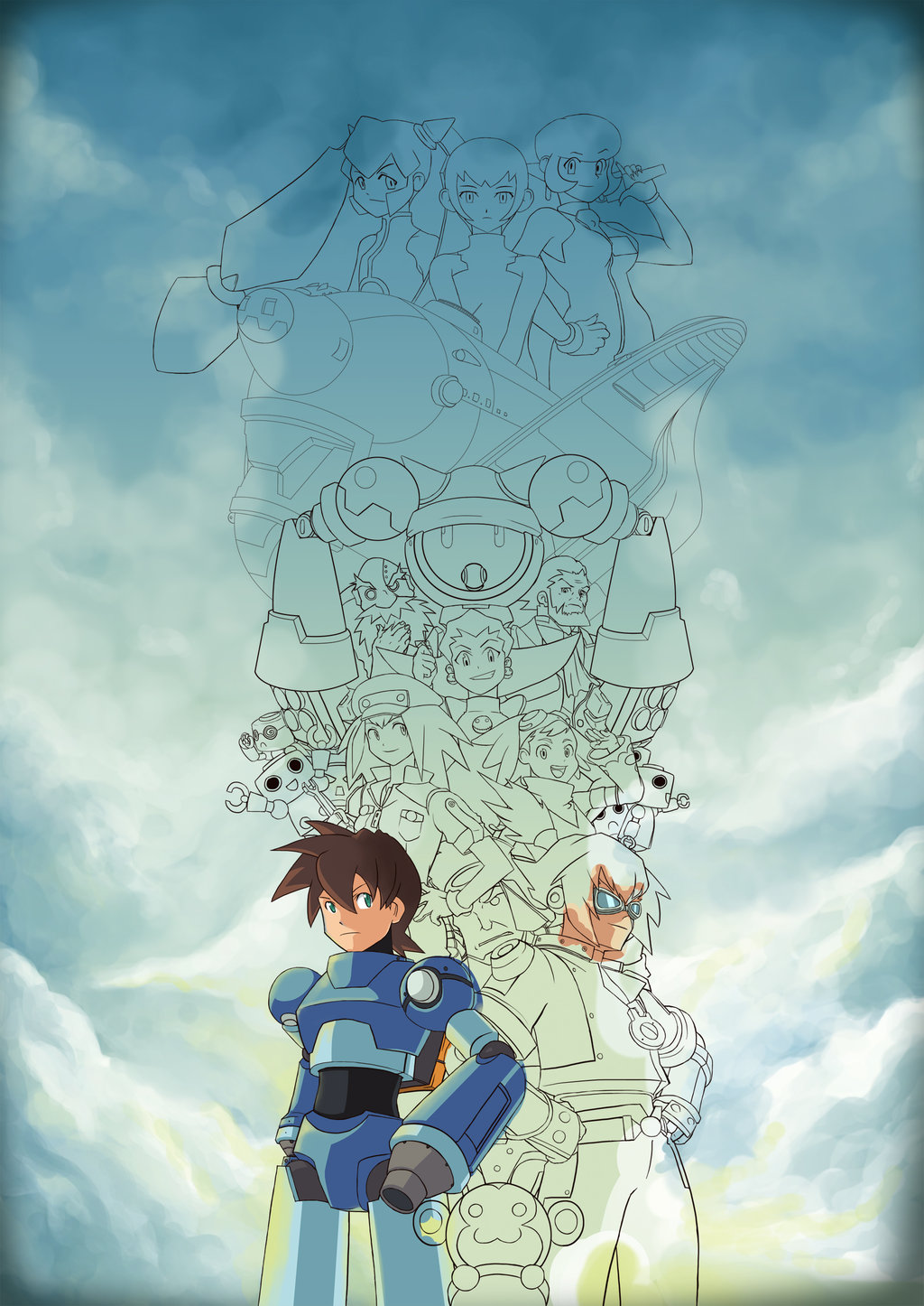 Mega Man Legends Fiche RPG reviews previews wallpapers videos