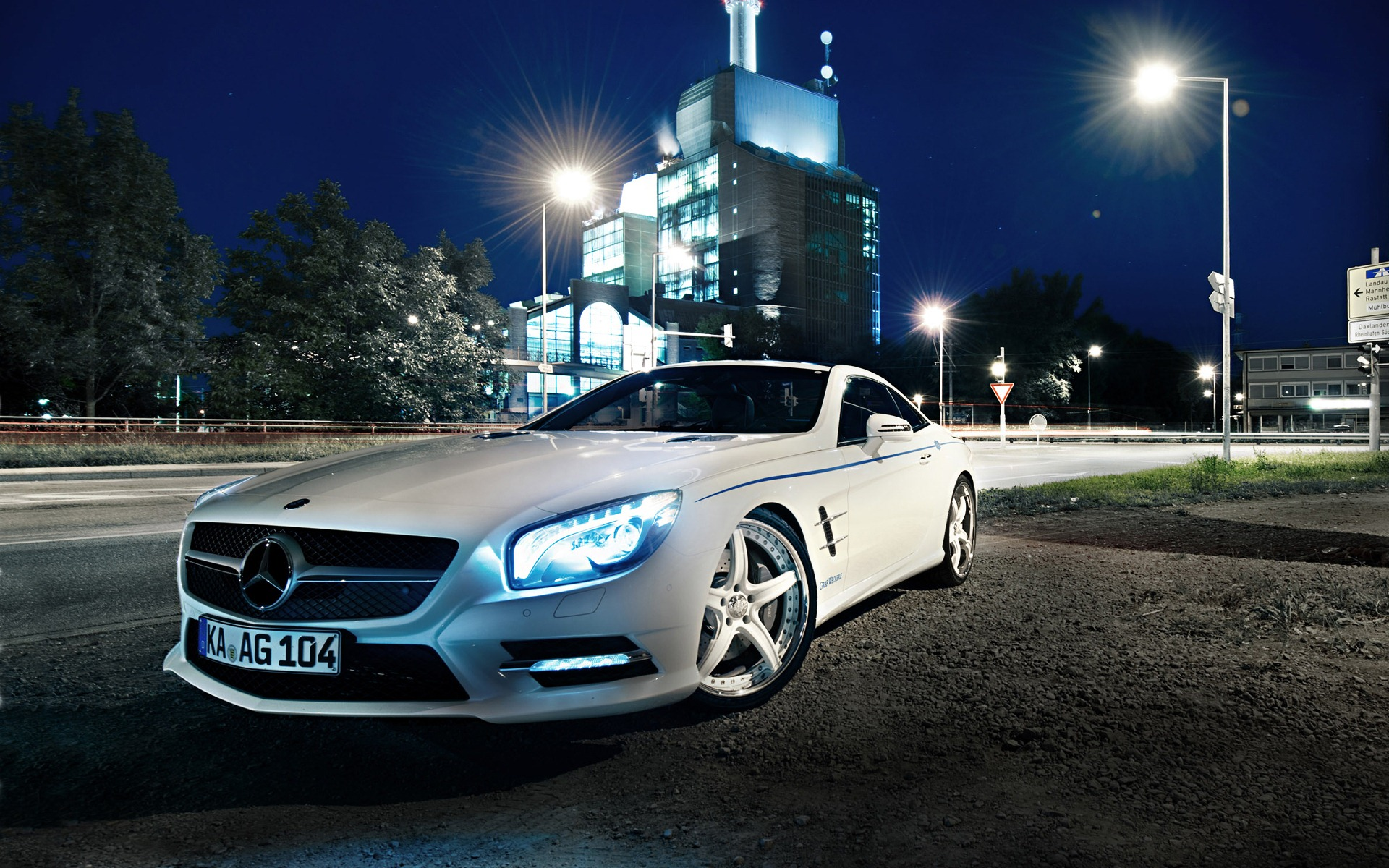 Mercedes HD Wallpaper 1920×1200
