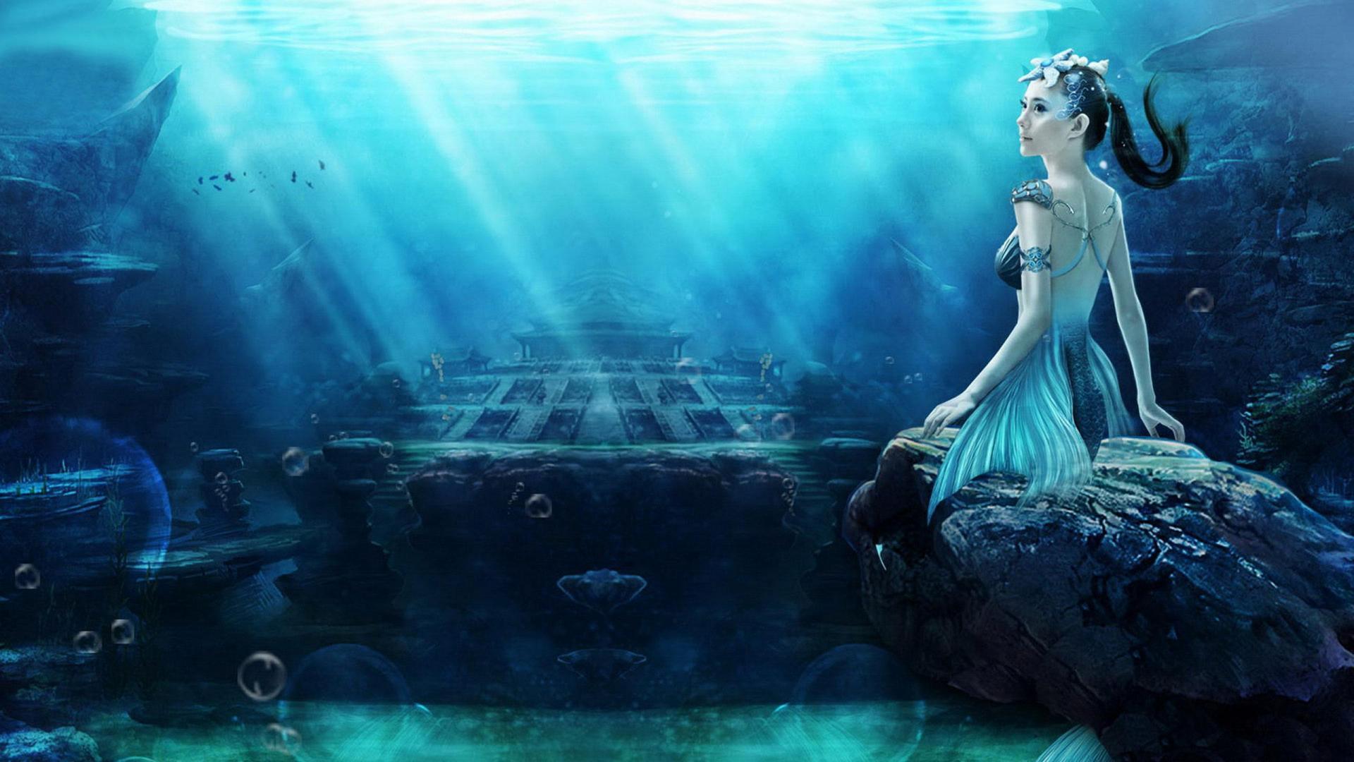 Gallery For The Little Mermaid Wallpaper Desktop Little Mermaid 1920x1080