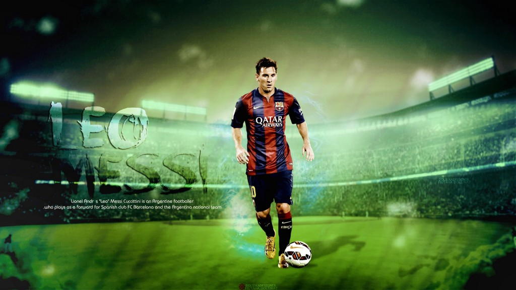 Lionel Messi / Wallpaper by RakaGFX on DeviantArt 1024x576