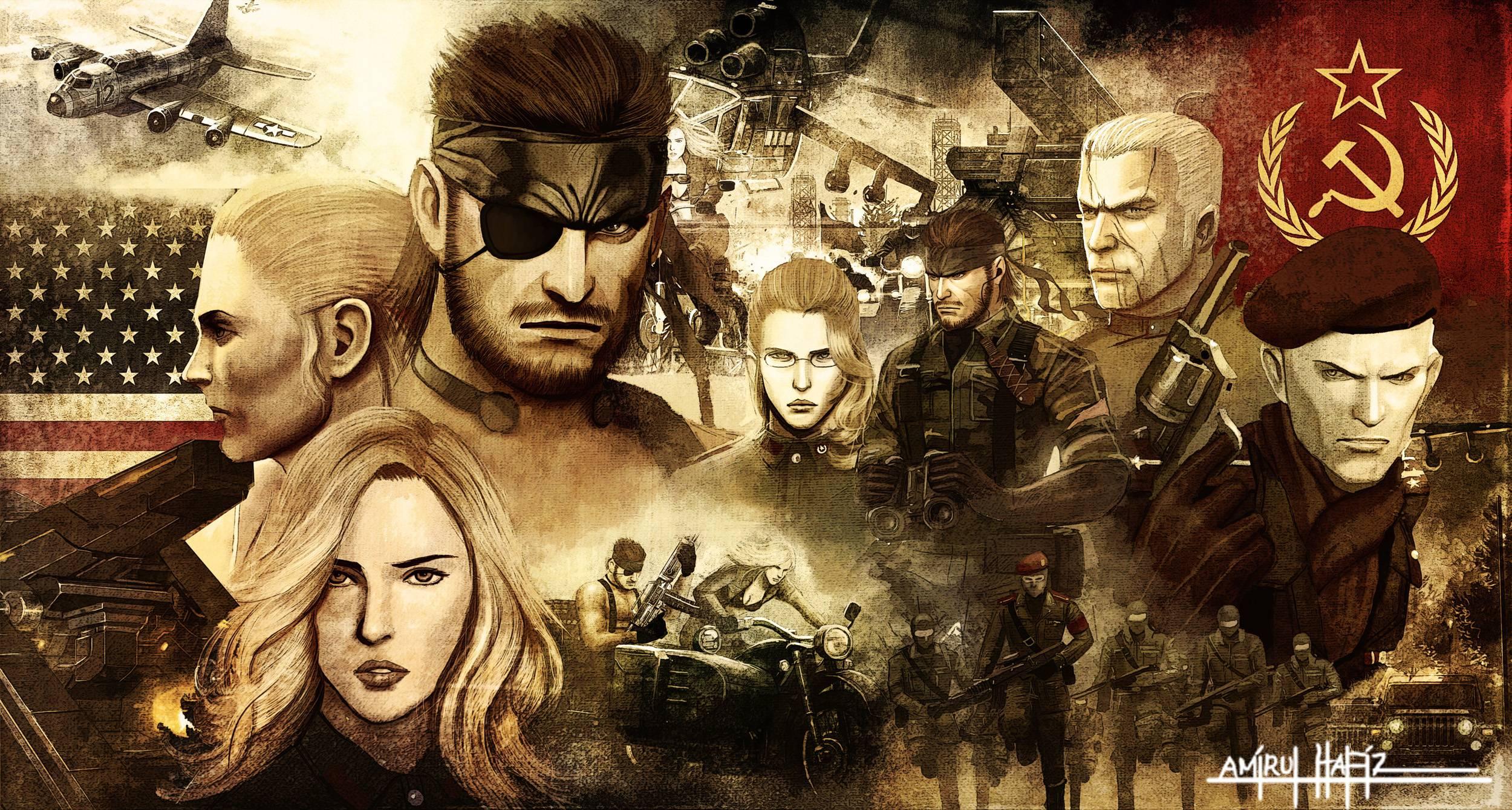 Metal Gear Solid Desktop Wallpapers 24 Wallpapers Adorable
