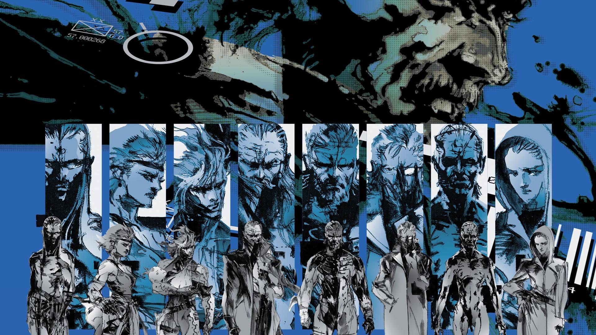 Metal Gear Solid Wallpaper Wallpapermonkey Mgs Wallpapers 1920x1080